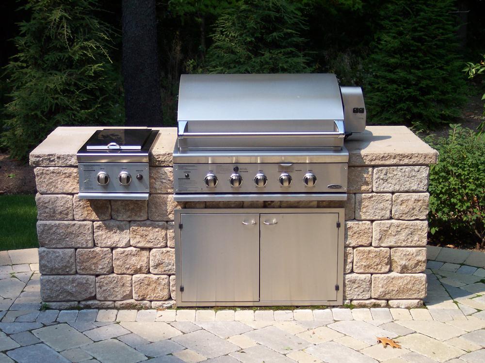 outdoor kitchen grills photo - 8