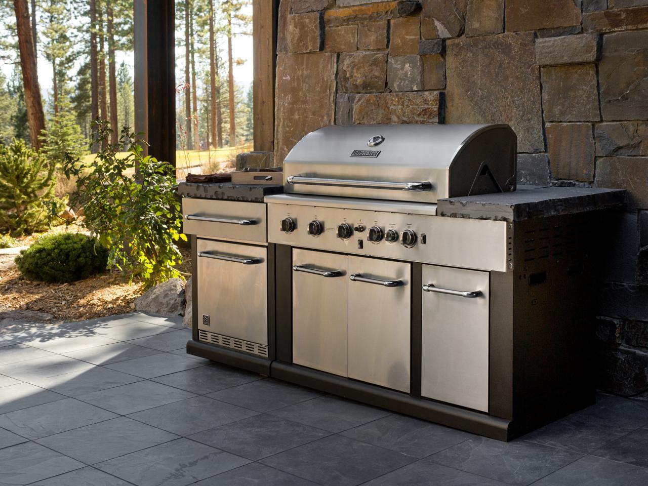 outdoor kitchen grills photo - 9