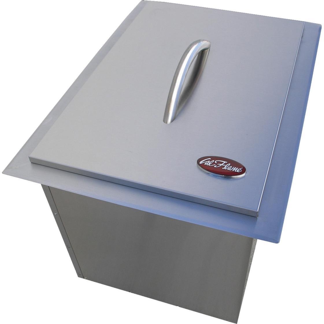 outdoor kitchen ice bin photo - 4