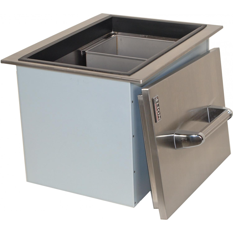 outdoor kitchen ice bin photo - 5