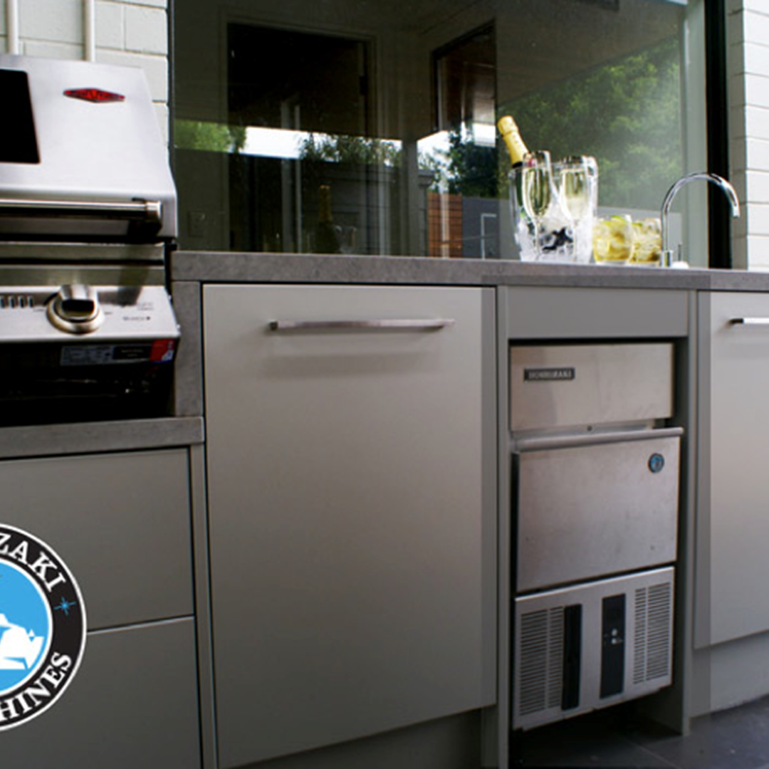outdoor kitchen ice maker photo - 10