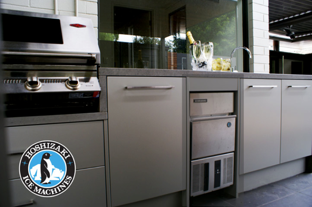 outdoor kitchen ice maker photo - 5