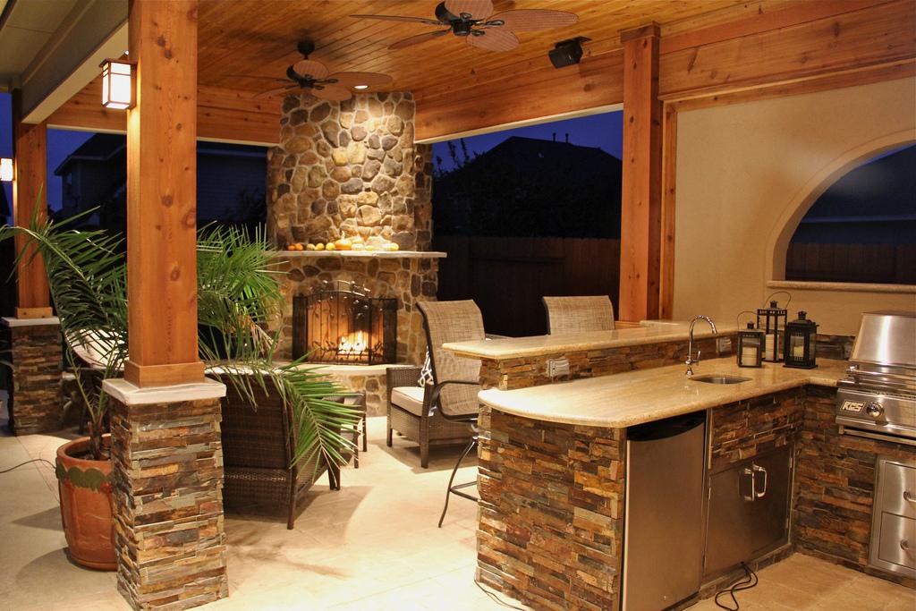 outdoor kitchen ideas photo - 1