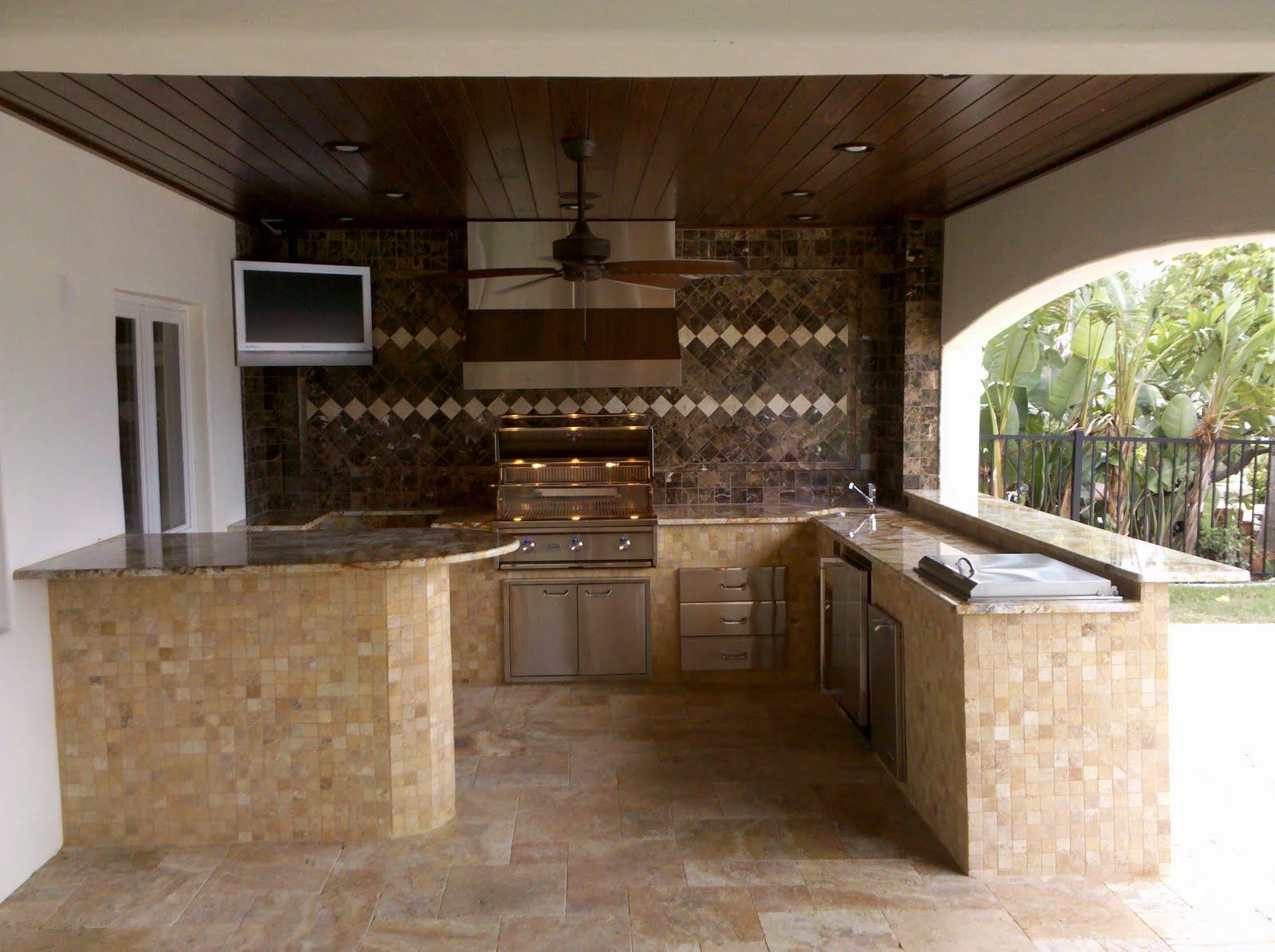 outdoor kitchen ideas photo - 10