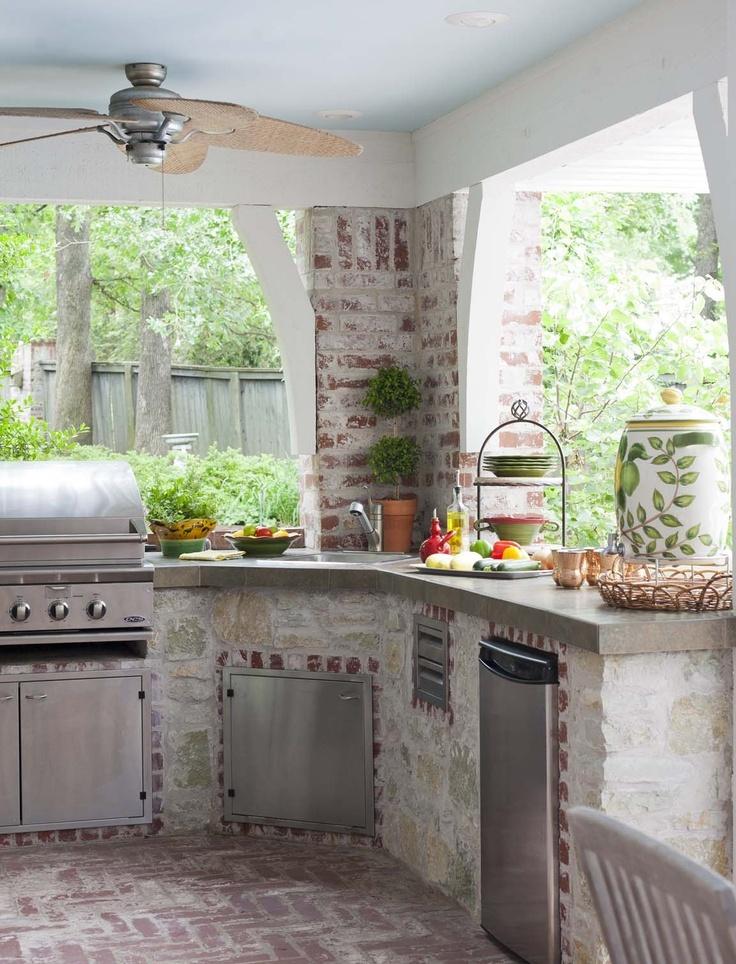outdoor kitchen ideas photo - 2