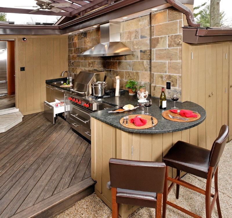 outdoor kitchen ideas photo - 4