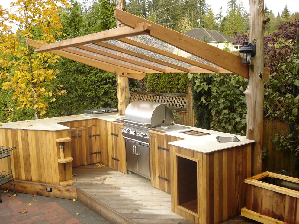 outdoor kitchen ideas photo - 7