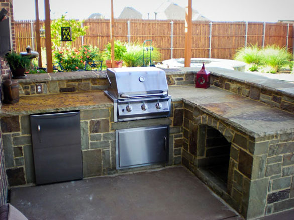 outdoor kitchen ideas diy photo - 1