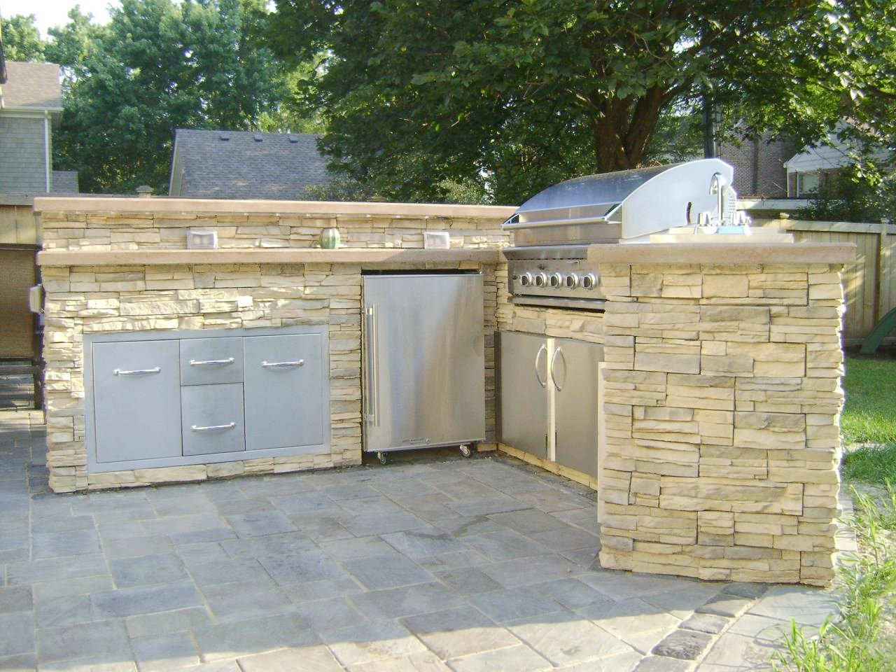 outdoor kitchen ideas diy photo - 6