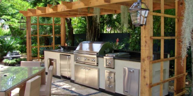 outdoor kitchen ideas diy photo - 7