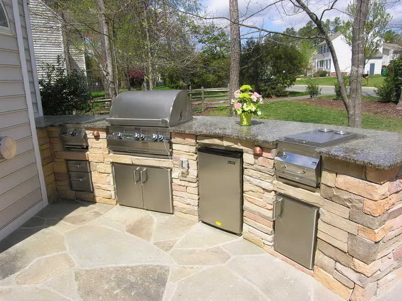 outdoor kitchen ideas diy photo - 8