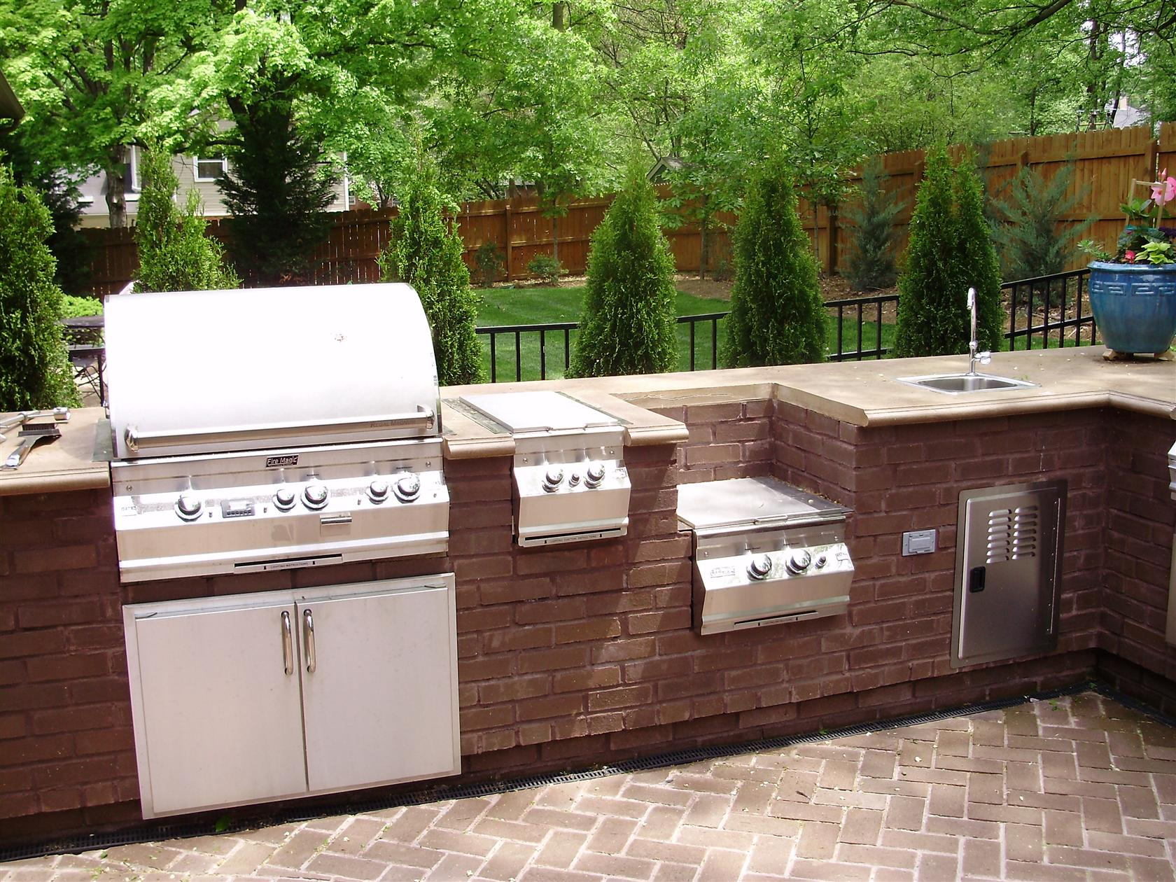outdoor kitchen images photo - 1