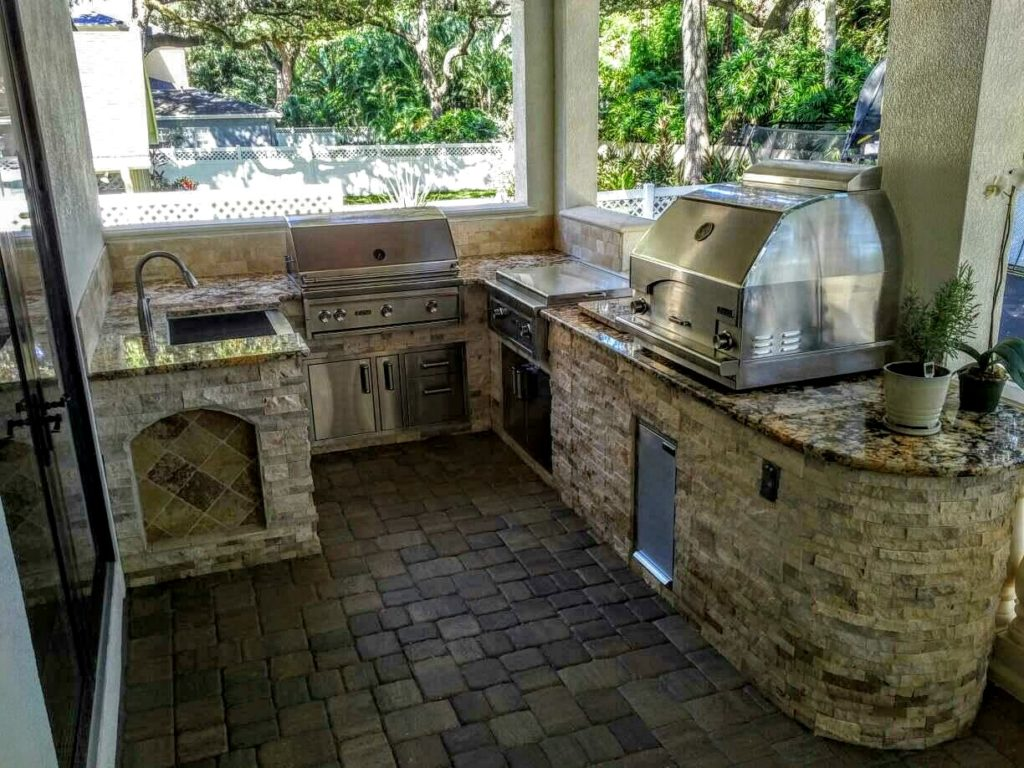 outdoor kitchen images photo - 6