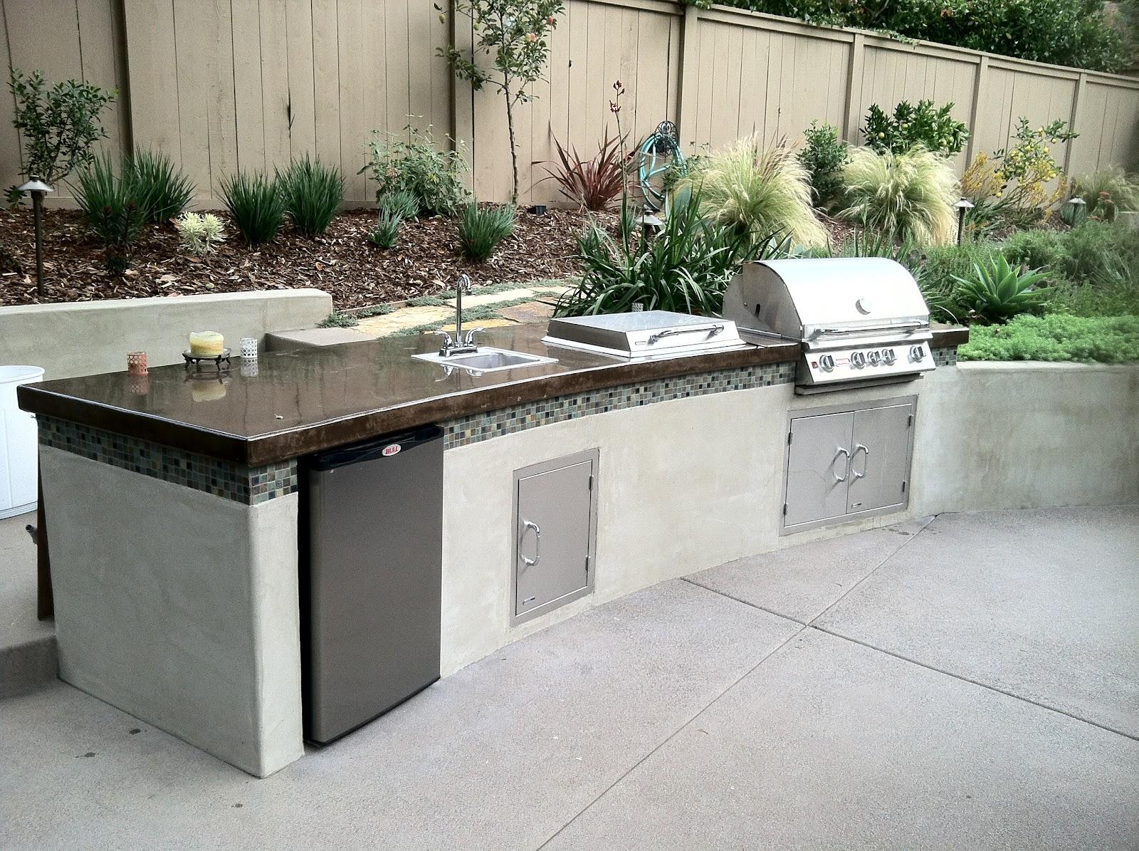 outdoor kitchen island plans photo - 10