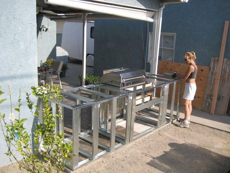 outdoor kitchen island plans photo - 4