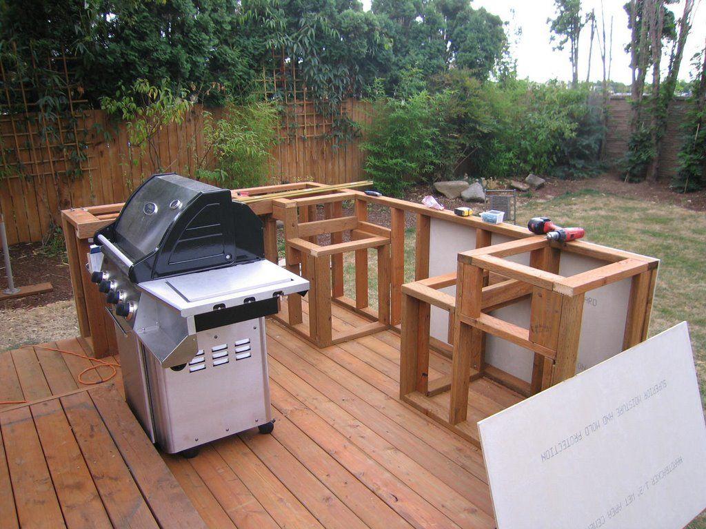outdoor kitchen island plans photo - 6