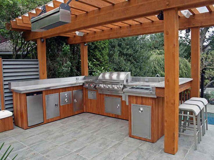 outdoor kitchen island plans photo - 7