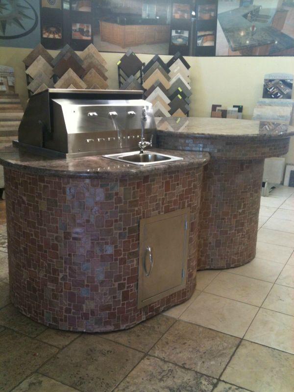 outdoor kitchen island with sink photo - 7