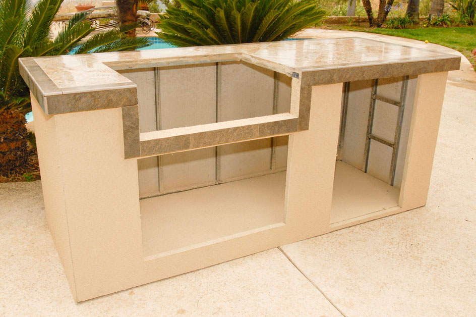Outdoor kitchen islands kits | Hawk Haven