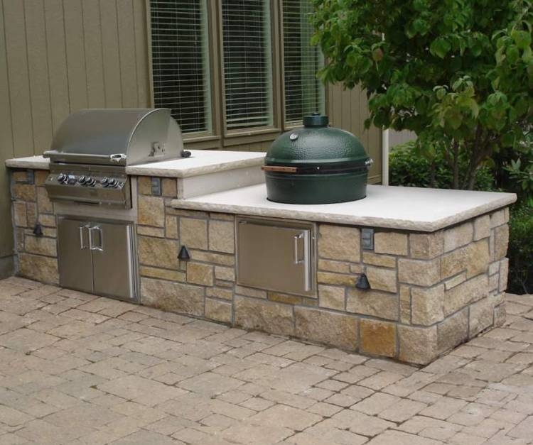 outdoor kitchen kits photo - 5