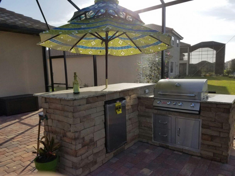 outdoor kitchen lakewood ranch photo - 2