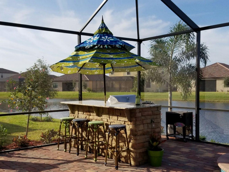outdoor kitchen lakewood ranch photo - 4