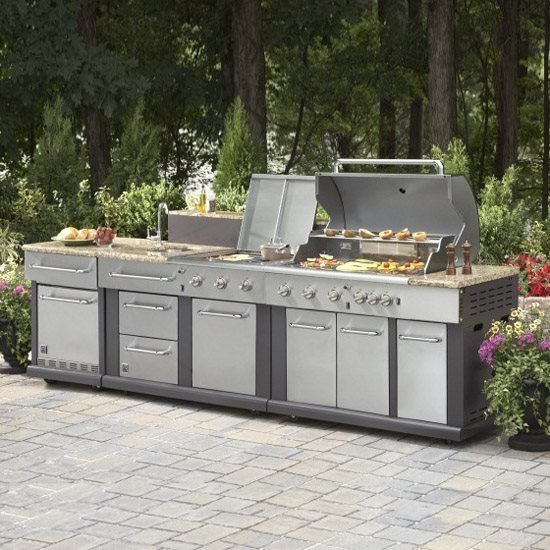 outdoor kitchen lowes photo - 1