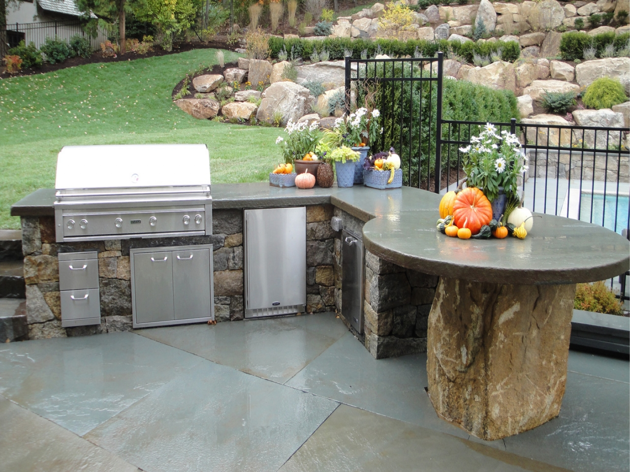 outdoor kitchen lowes photo - 3
