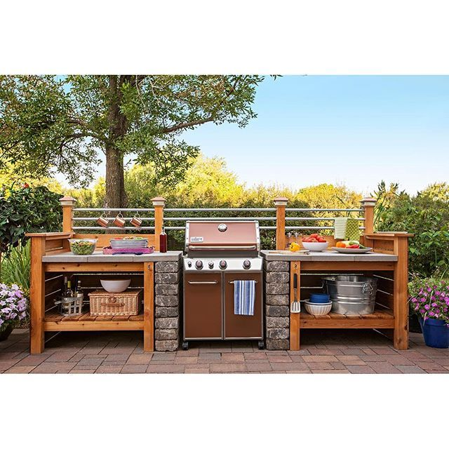 outdoor kitchen lowes photo - 4