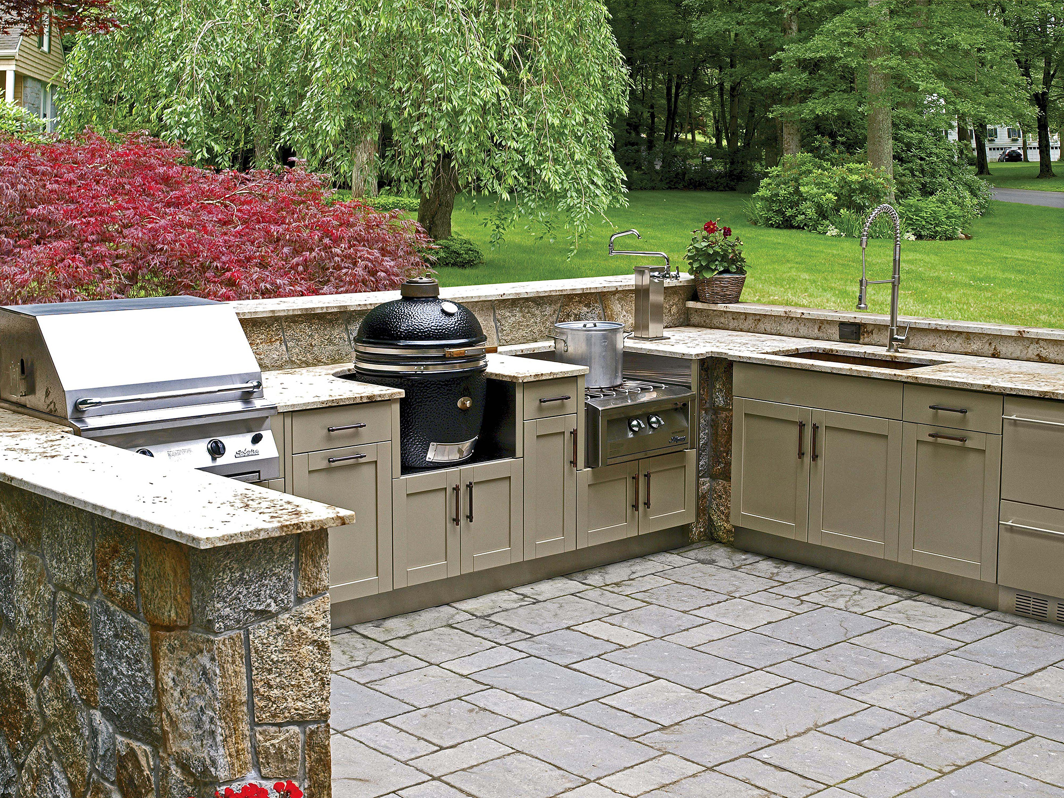outdoor kitchen lowes photo - 6