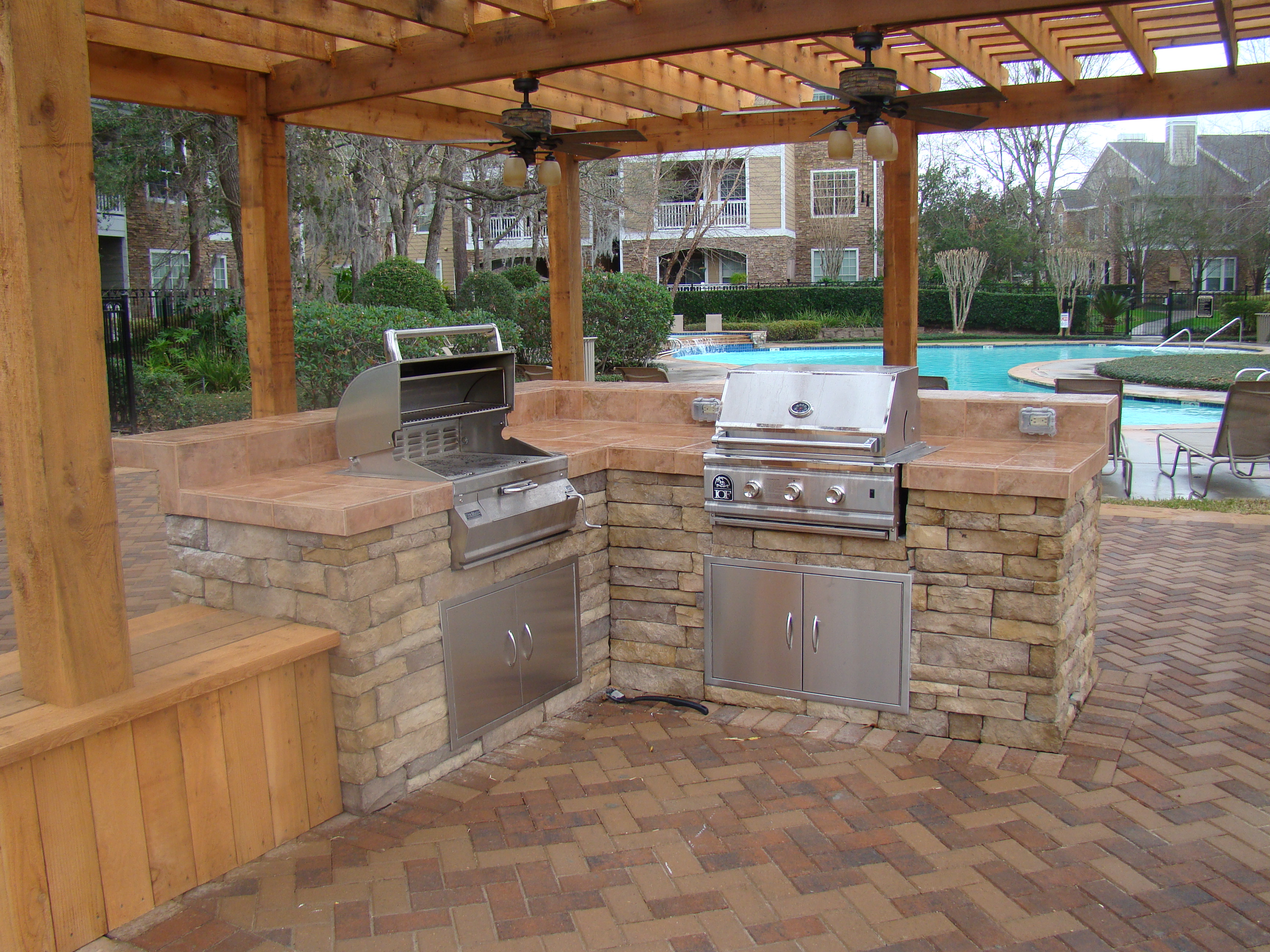 outdoor kitchen pictures photo - 10