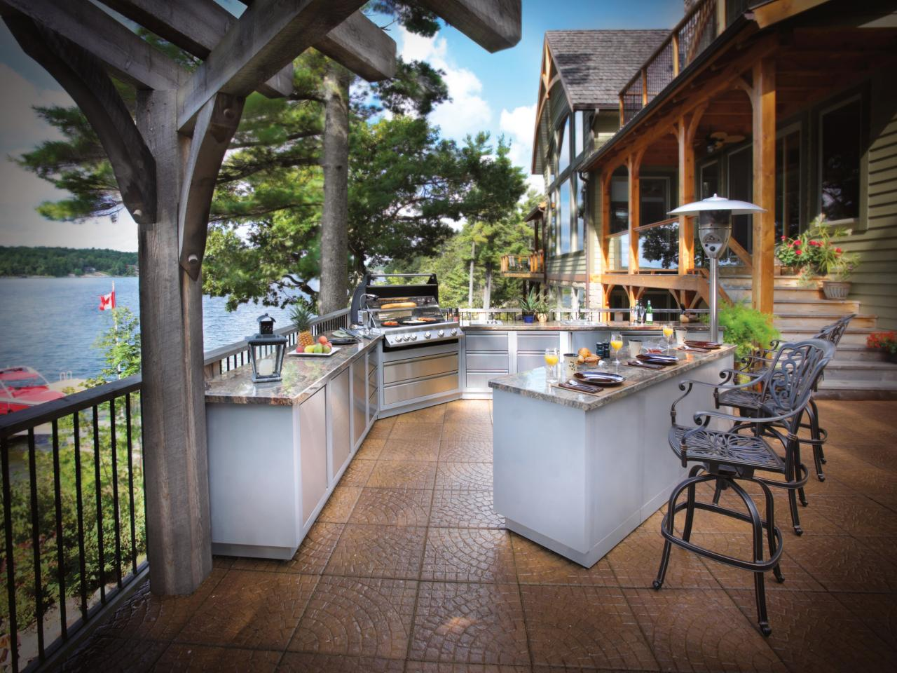 outdoor kitchen pictures photo - 3