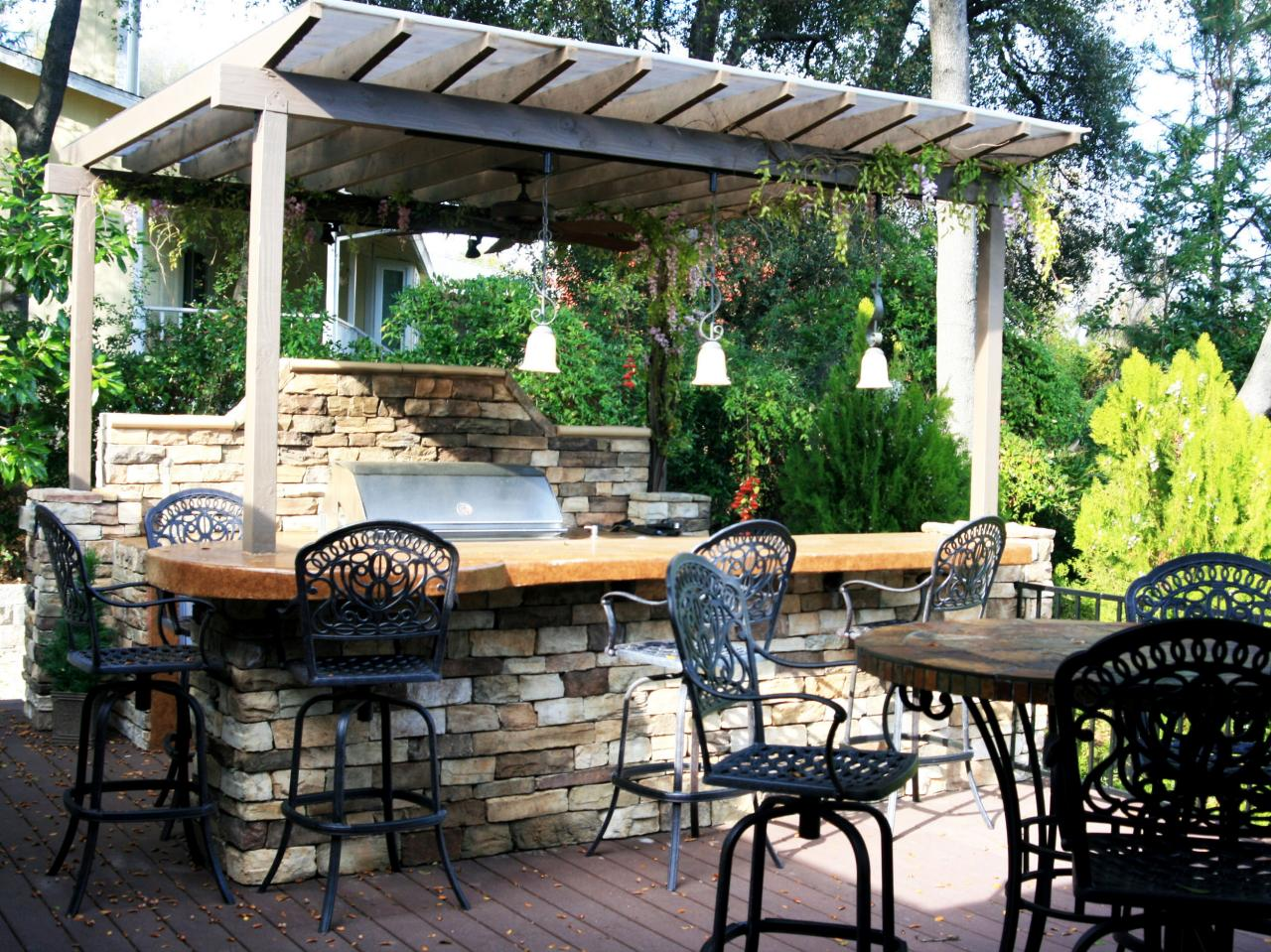 outdoor kitchen pictures photo - 5