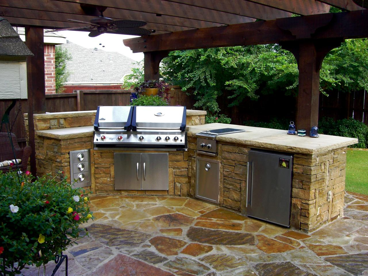 outdoor kitchen pictures photo - 7