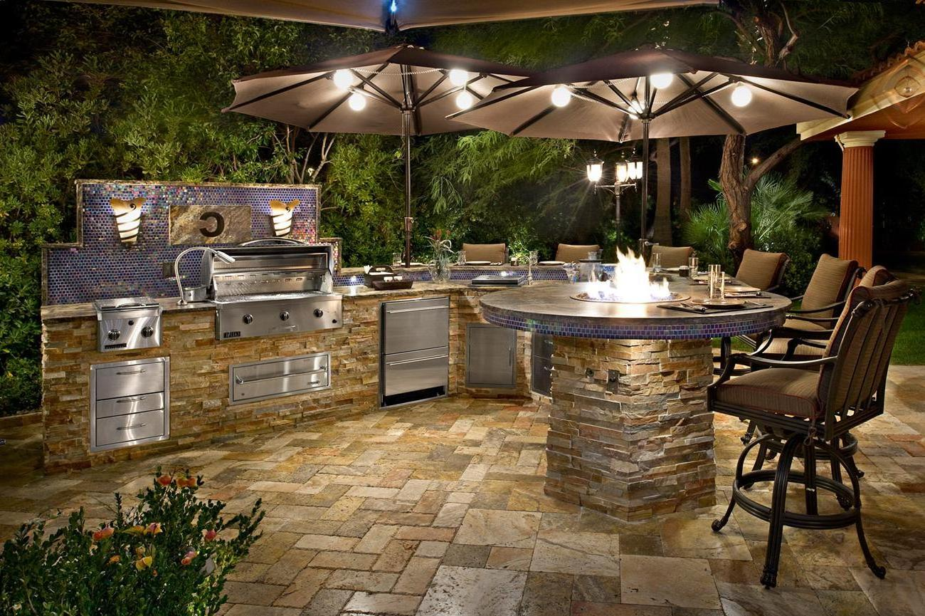 outdoor kitchen pictures photo - 9