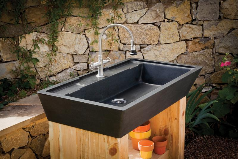outdoor kitchen sink photo - 5