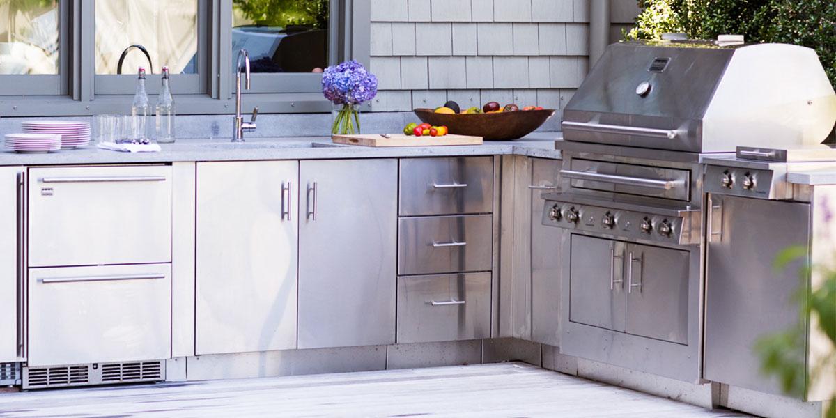 outdoor kitchen units photo - 9