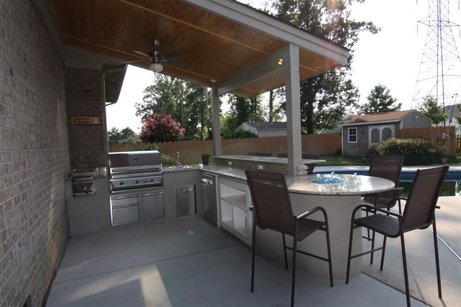 outdoor kitchen virginia beach photo - 2