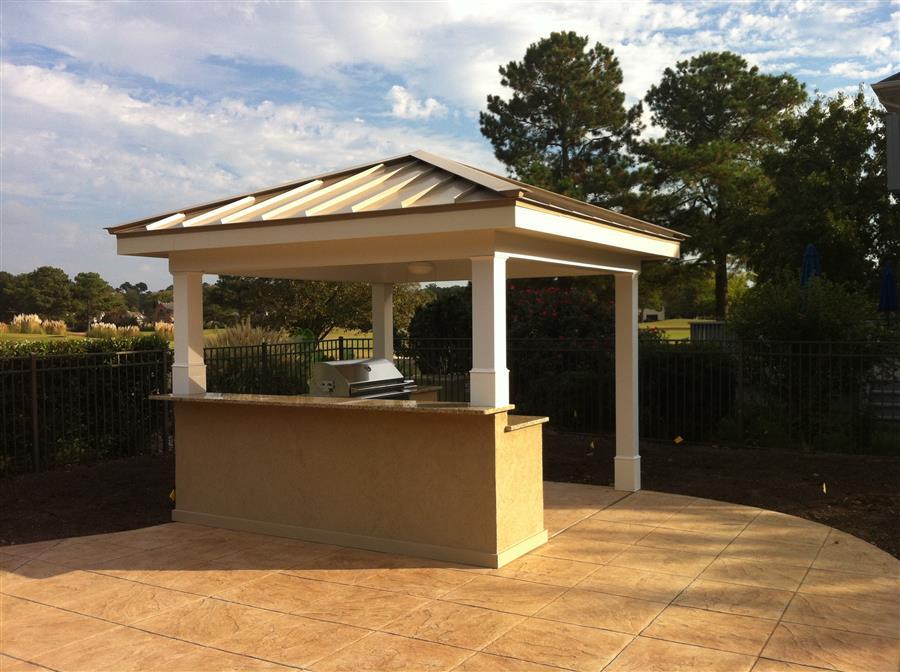 outdoor kitchen virginia beach photo - 3
