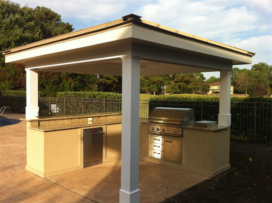 outdoor kitchen virginia beach photo - 4