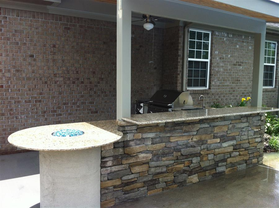 outdoor kitchen virginia beach photo - 9