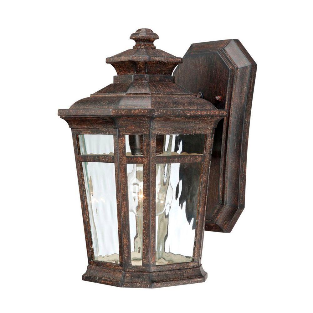 outdoor lighting wall mount lantern photo - 1