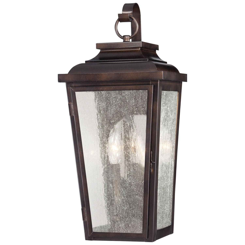 outdoor lighting wall mount lantern photo - 3
