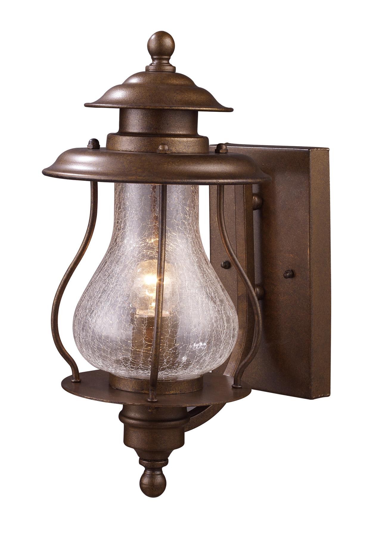 outdoor lighting wall mount lantern photo - 5