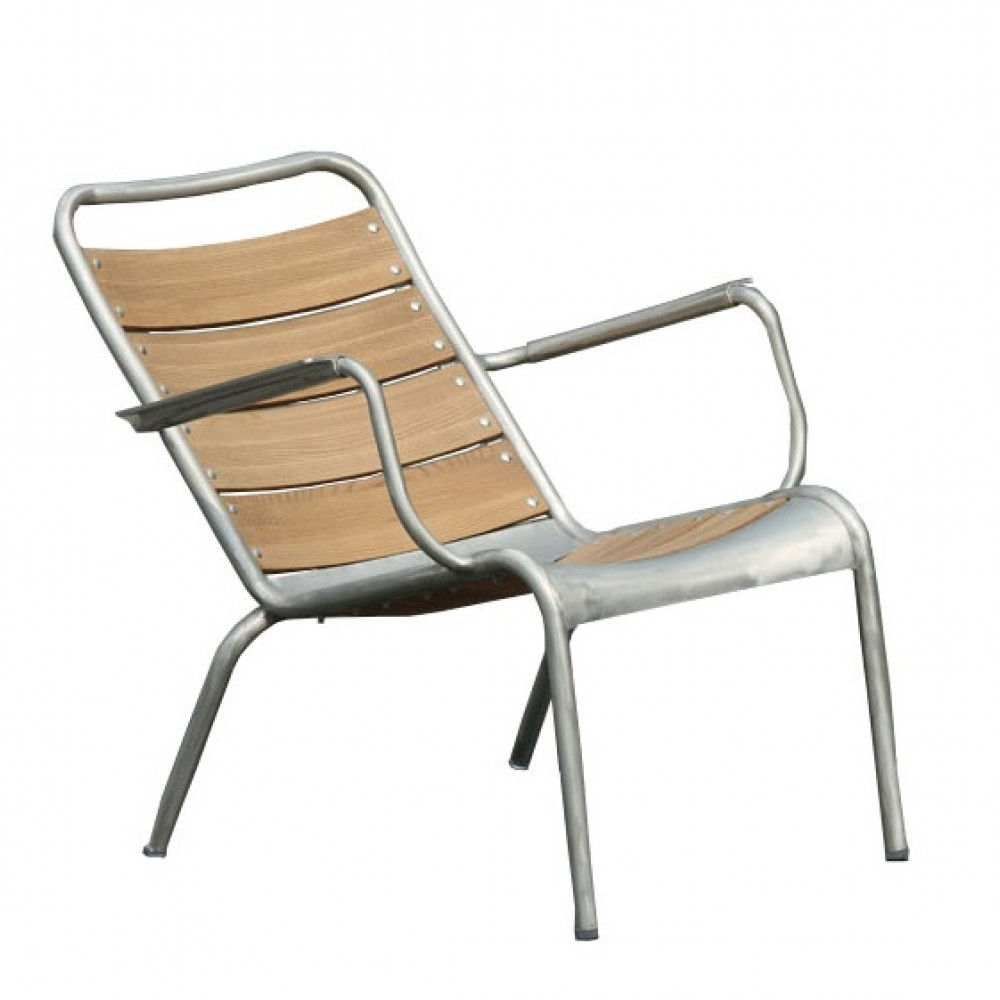 outdoor lounge chairs aluminum photo - 5