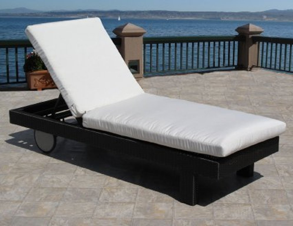 outdoor lounge chairs aluminum photo - 6