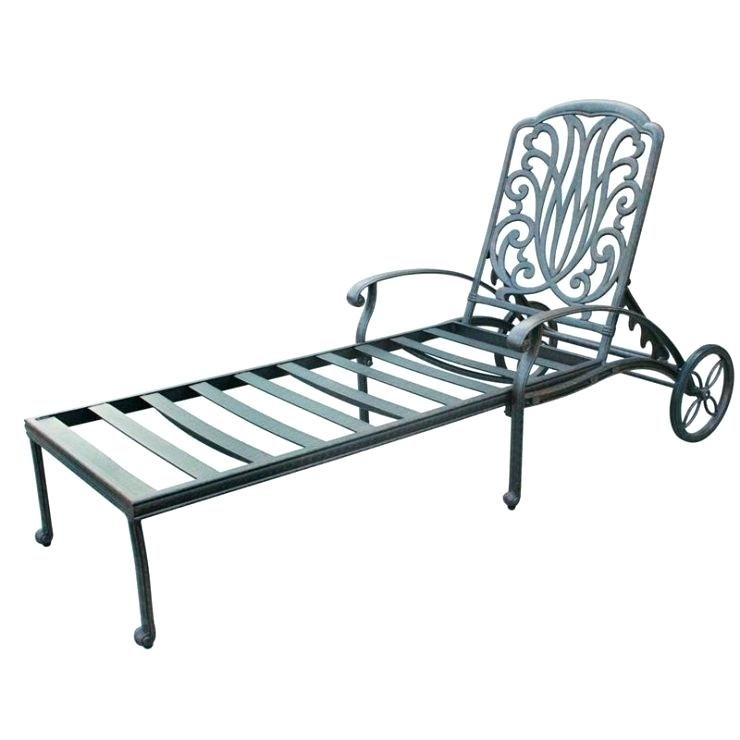 outdoor lounge chairs aluminum photo - 7