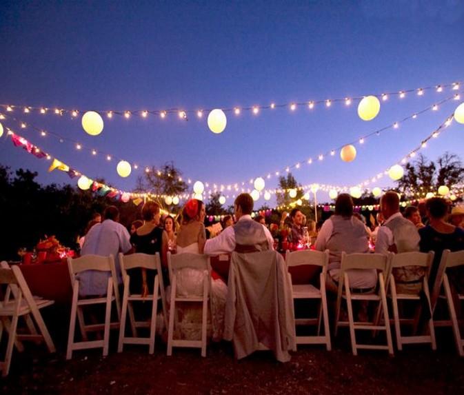 Outdoor Party Lights Hawk Haven