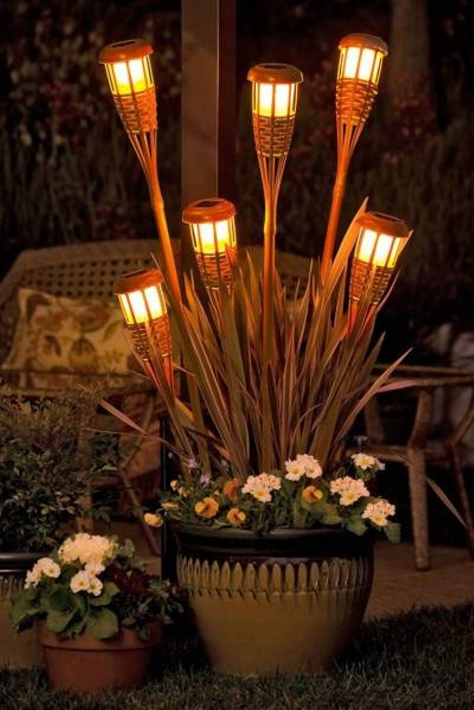 outdoor party lights ideas photo - 2