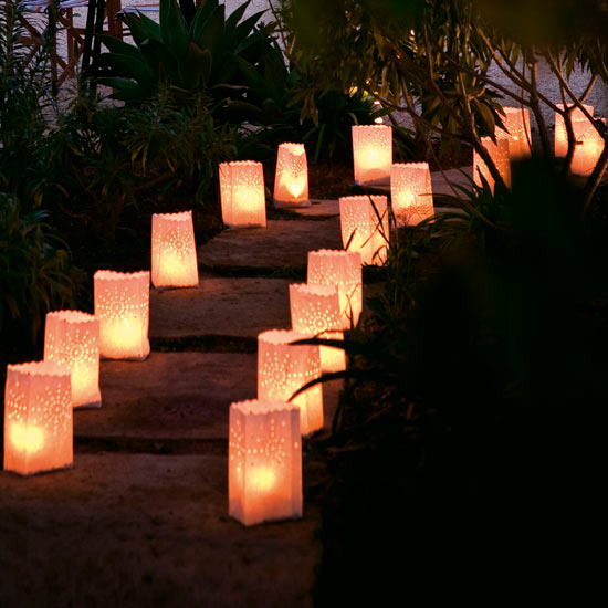 outdoor party lights ideas photo - 9